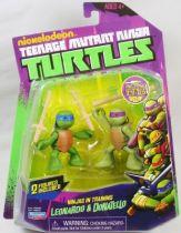 Tortues Ninja (Nickelodeon) - Ninjas in Training Leonardo & Donatello