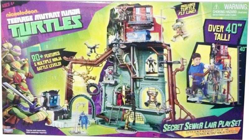 Tortues Ninja (Nickelodeon) - Secret Sewer Lair Playset