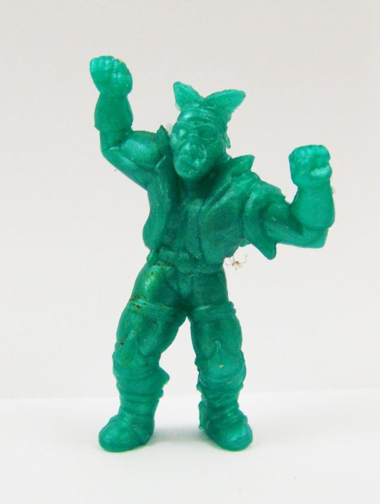 Toxic Crusaders - Figurine Monochrome - Bonehead (Vert Foncé) 01