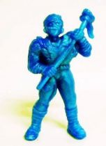 Toxic Crusaders - Monochrome Figure - Toxie (Blue)