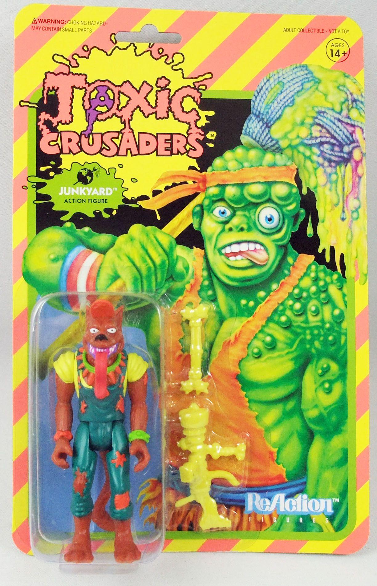 Toxic Crusaders - Super7 - ReAction Figure - Junkyard