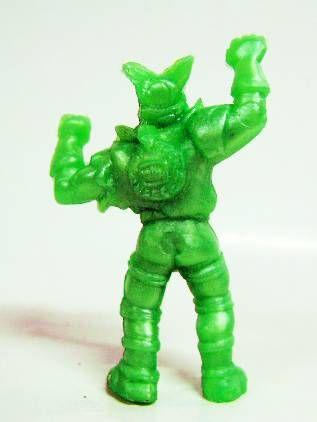 Toxic Crusaders - Yolanda Monochrome Figure - Bonehead (Green)