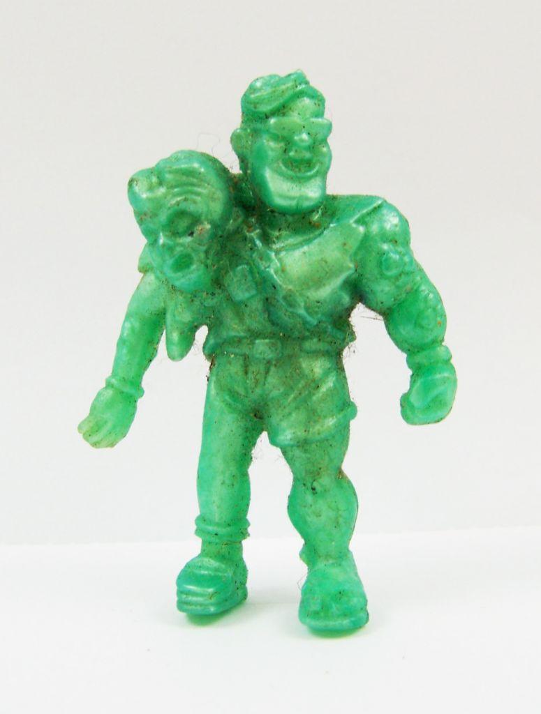 Toxic Crusaders - Figurine Monochrome - Headbanger (Vert Foncé) 01