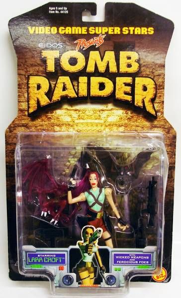 Toy Biz - Tomb Raider - Figurine 14cm - Lara Croft