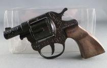 Toy Metal Cap Gun Police Firecracker pistol N° 73 - Gonher Spain