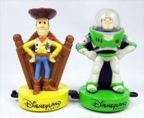"Toy Story - Disneyland Paris - Woody & Buzz Lightyear 3.5"" figures"