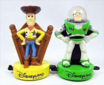 "Toy Story - Disneyland Paris - Woody & Buzz Lightyear 3.5\"" figures"