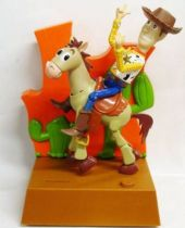 Toy Story - Think Way - Woody & Bullseye Animated Coin Bank