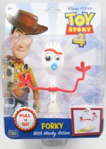 Toy Story 3 - Think Way - Forky (Pull \'n Go figure)