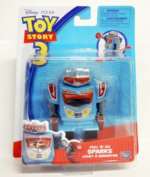 Toy Story 3 - Think Way - Sparks (Jouet à Remonter)