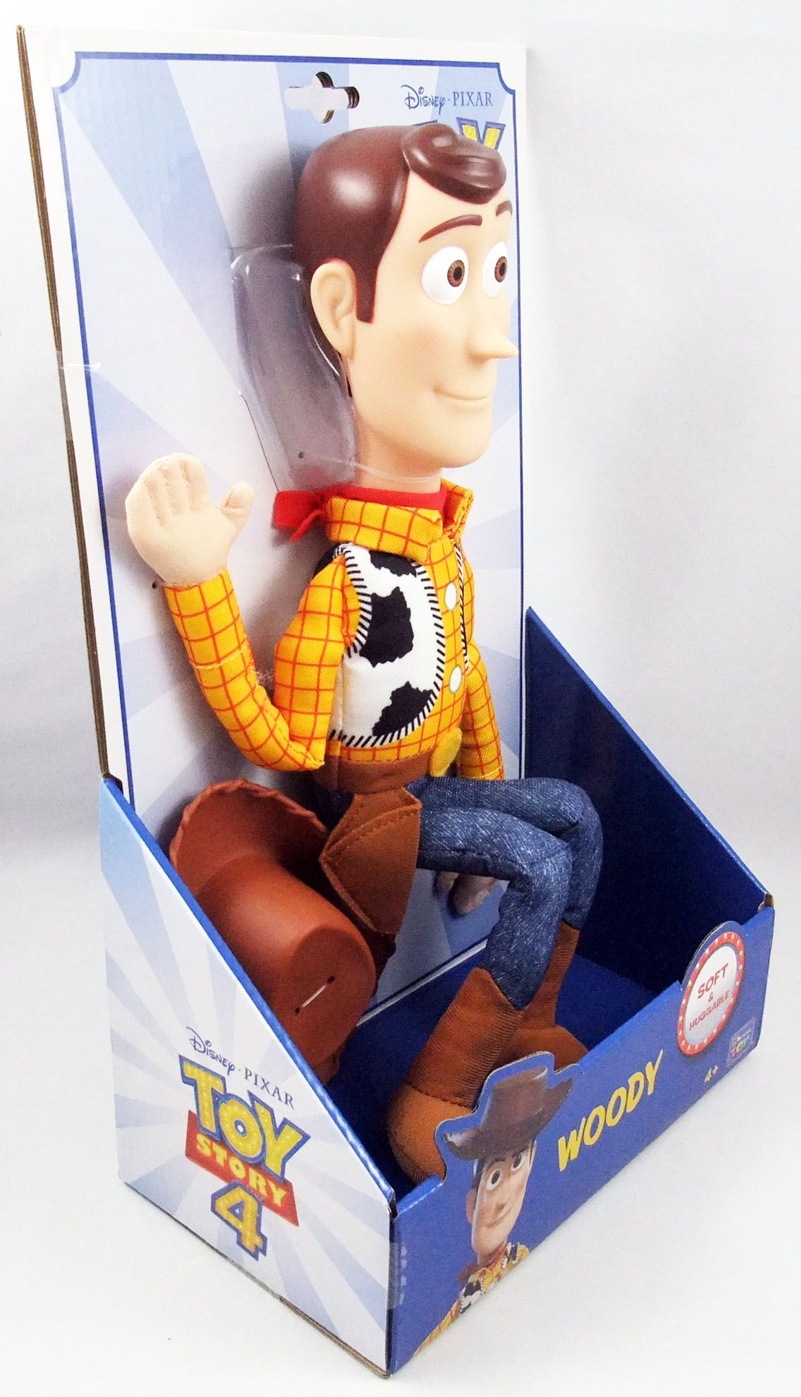 """Toy Story 4 - Think Way - Woody 15\"""" doll"""