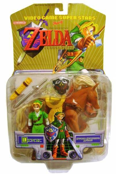 Toybiz - Ocarina of Time - Link & Epona (his horse)