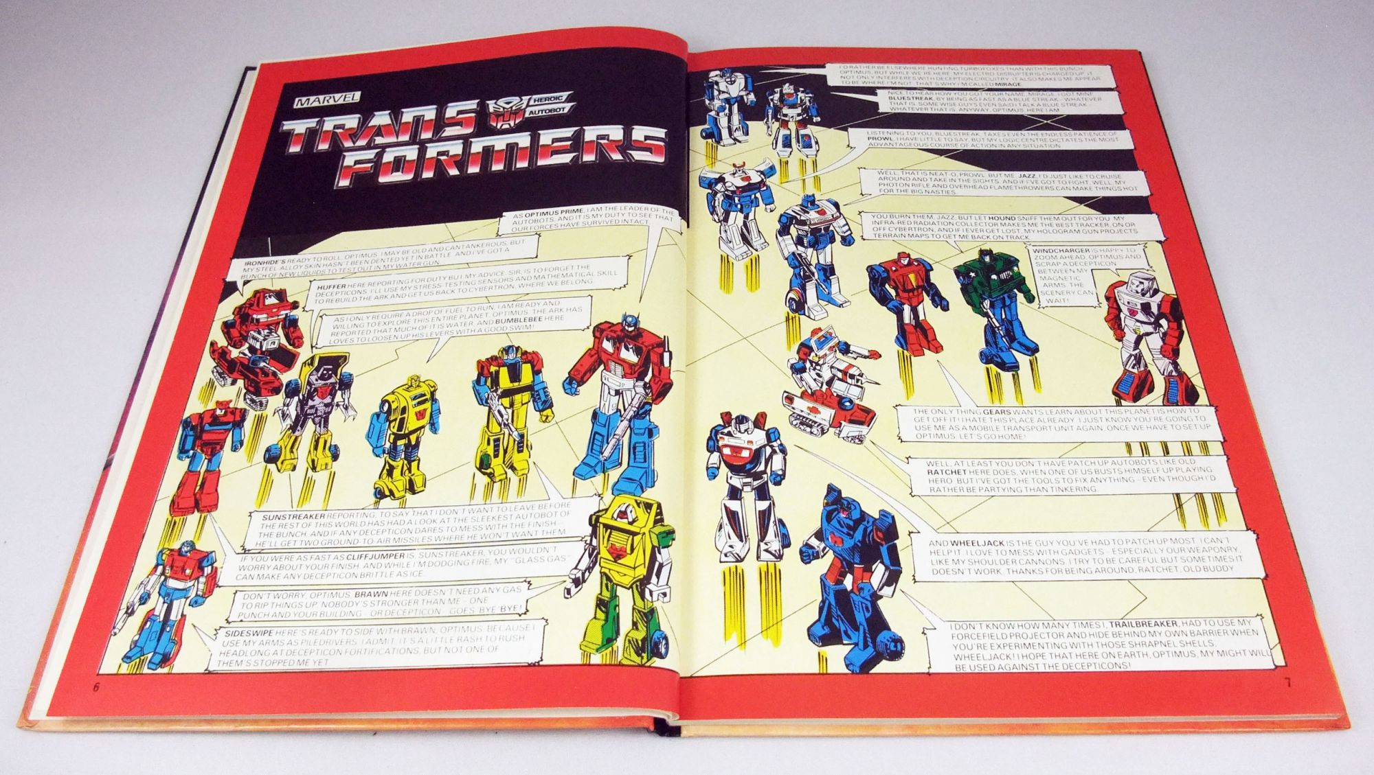 Transformers - Livre - World International Publishing - Masters of the Universe Annual 1985