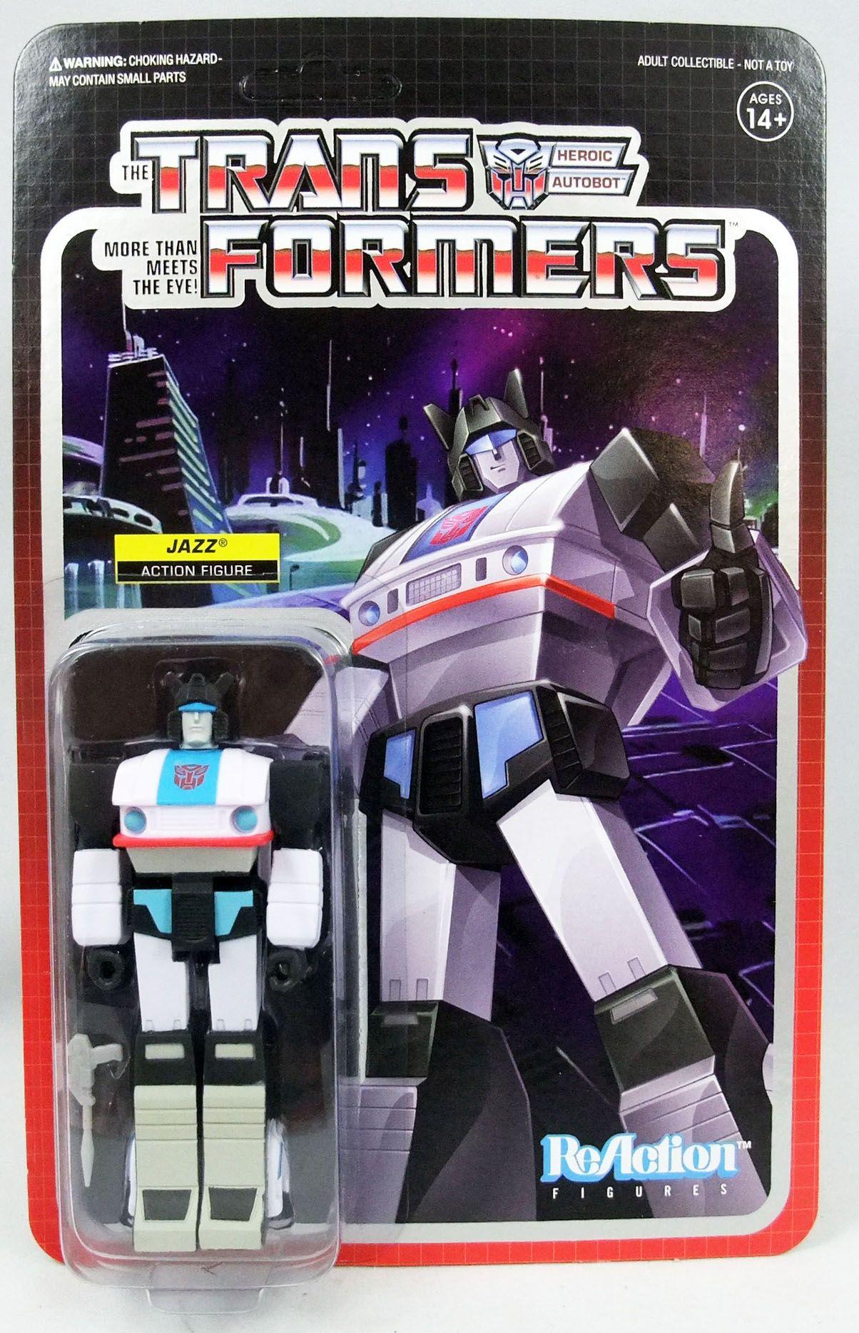 Transformers - Super7 ReAction Figure - Jazz