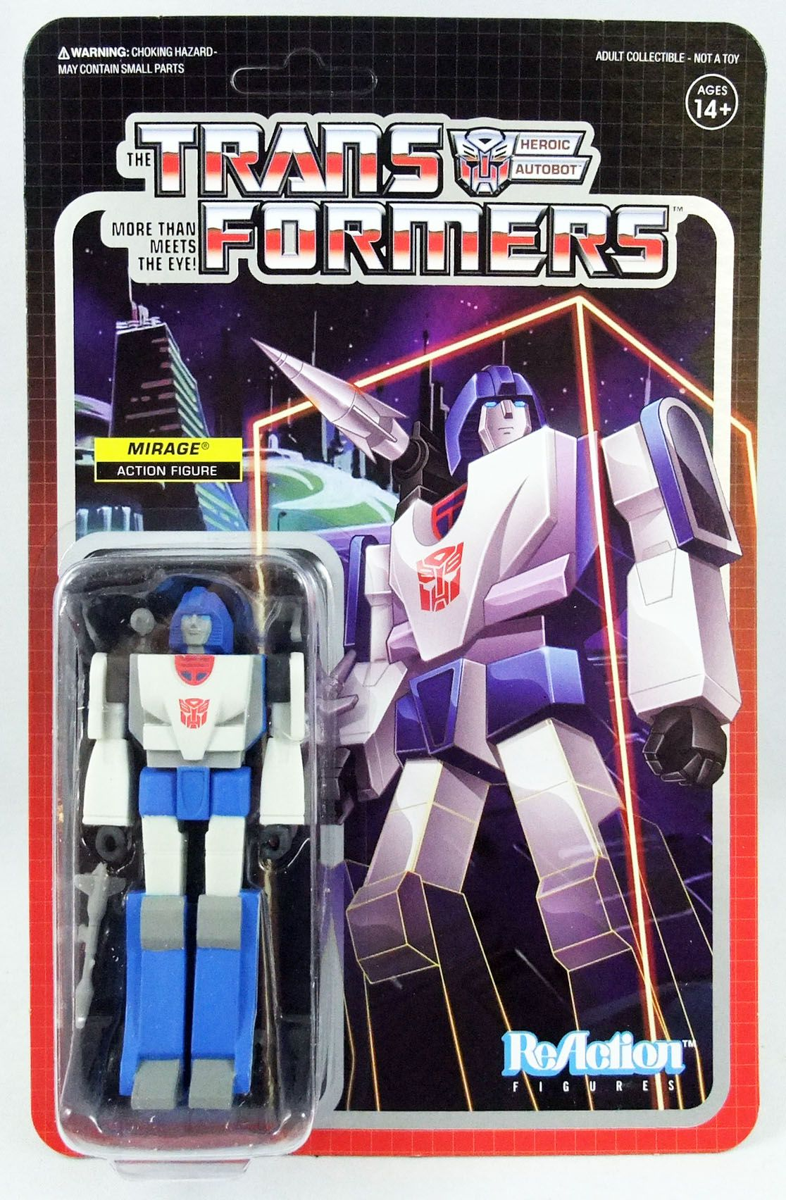 Transformers - Super7 ReAction Figure - Mirage