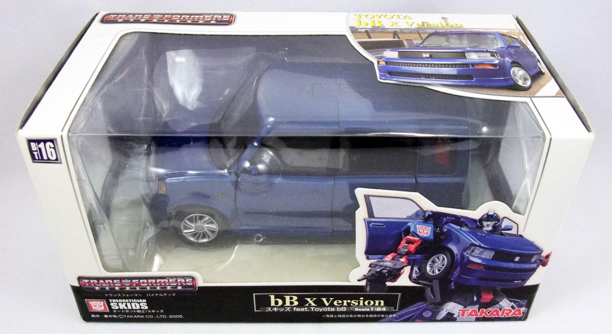 Transformers Binaltech - Takara - Skids (Toyota bB x Version)