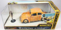 Transformers Bumblebee - Jada - Volkswagen Beetle Bumblebee & Charlie - vehicule metal 1:24ème