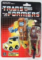 Transformers G1 - Autobot - Outback (loose on resealed card)