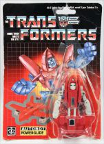 Transformers G1 - Autobot - Powerglide (loose on resealed card)