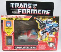 Transformers G1 - Autobot Headmasters - Siren (loose with box)
