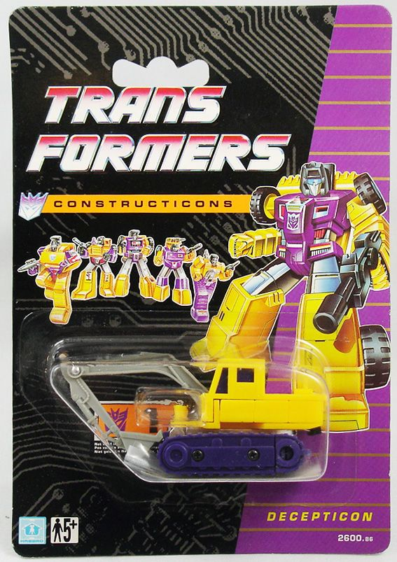 Transformers G1 - Constructicon - Scavenger (Exclusif Europe 1991)