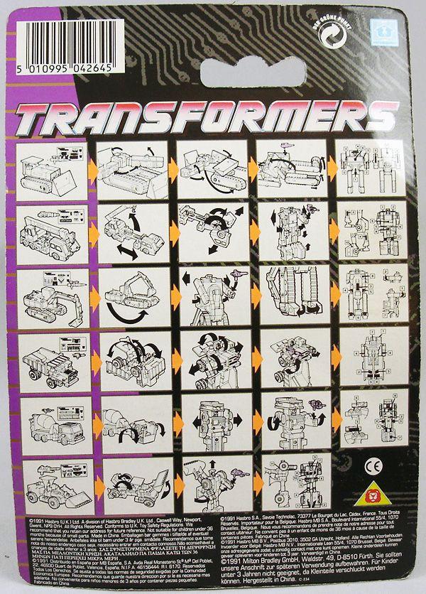 Transformers G1 - Constructicon - Scrapper (1)
