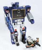 Transformers G1 - Decepticon Communicator Soundwave & Condor Cassette Buzzsaw (loose) - France