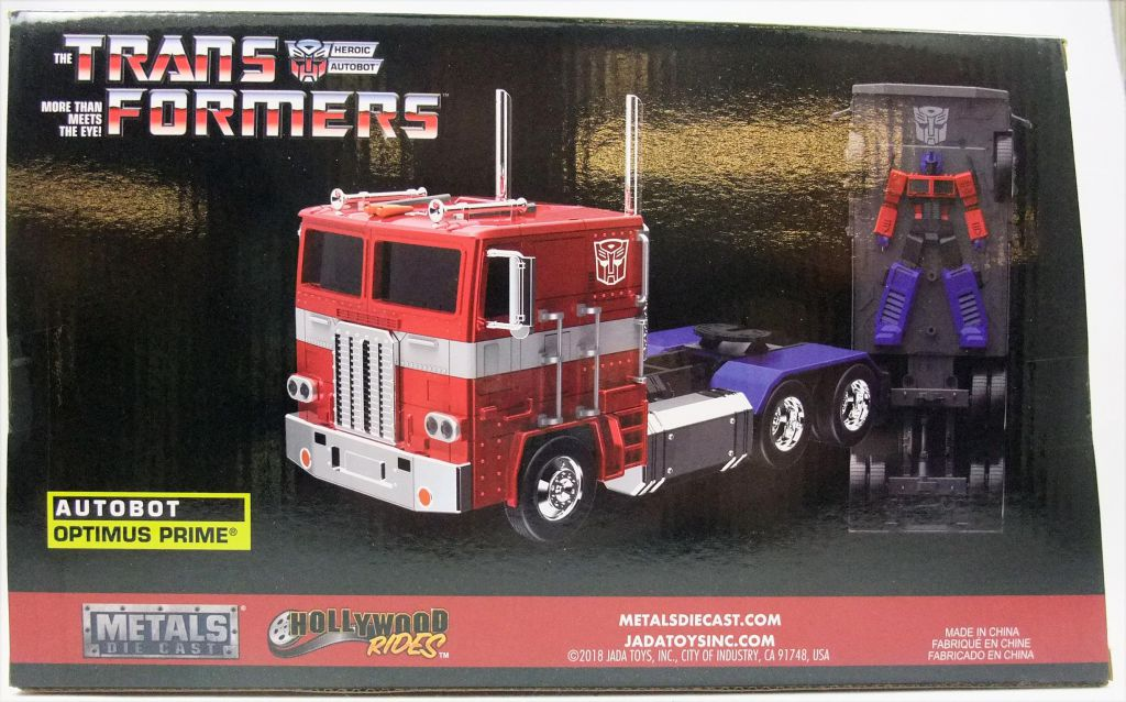 Transformers G1 - Jada - 1:24 scale die-cast Autobot Optimus Prime