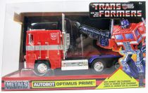 Transformers G1 - Jada - Autobot Optimus Prime - vehicule metal 1:24ème