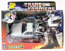 Transformers G1 Exclusive - Autobot Delorean Gigawatt (Retour vers le Futur 35ème Anniversaire)