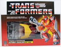 Transformers G1 Walmart Exclusive - Autobot Cavalier Hot Rod