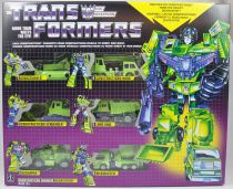 Transformers G1 Walmart Exclusive - Constructicon Warrior Devastator