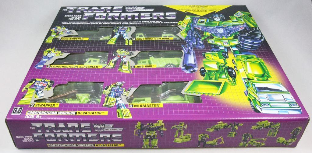 Transformers G1 Walmart Exclusive - Constructicon Warrior Devastator