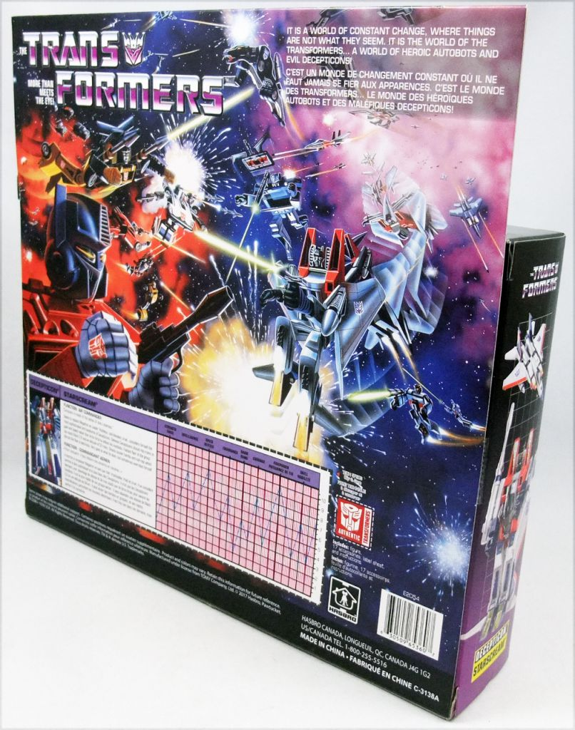 Transformers G1 Walmart Exclusive - Decepticon Air Commander Starscream