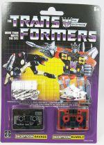 Transformers G1 Walmart Exclusive - Decepticon Ravage & Rumble