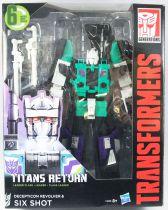 Transformers Generations - Titans Return Decepticon Revolver & Six Shot