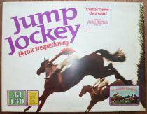 Tri-ang - Jump Jockey JJ 130 - Electric Steeplechasing Scalextric Mint in Box