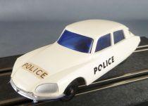 Tri-Ang - Slot Car - Citroën DS 23 IE Police à Piles 1/32