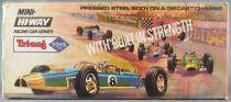 Tri-ang TM 6560 - Série Mini-Hi-way Racing Car - Daytona Usa #8 Neuve Boite