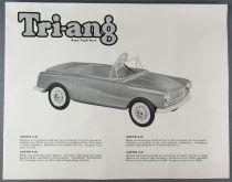 Triang 1962 Catalog - Pedal Cars Doll House Trucks
