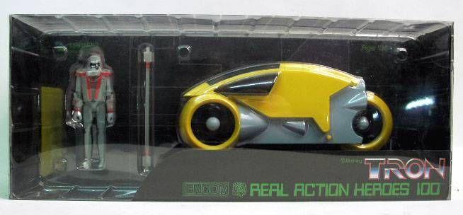 Tron - Medicom - R.A.H 100 Tron Warrior & light cycle