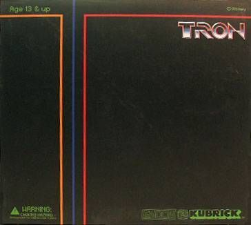 Tron - Medicom Kubrick - Set B  Flynn w/ Tank & Light cycle