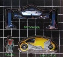 Tron - Medicom Kubrick - Set C  Soldier w/ Recognizer &  Light Cycle