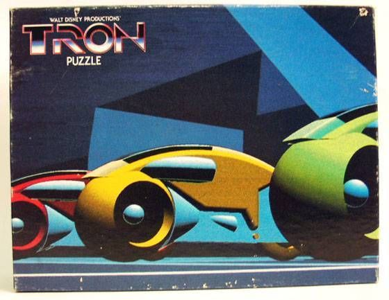 Tron - Withman - puzzle Light cycles