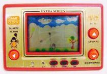 Tronica (Game-Clock) - Handheld Game (Extra Screen) - Bird & Child (loose)