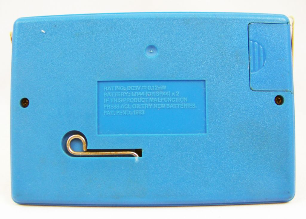 Tronica (Game-Clock & Calculator) - Handheld Game - Space Adventure (SA-12)  04