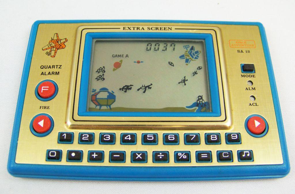 Tronica (Game-Clock & Calculator) - Handheld Game - Space Adventure (SA-12)  05