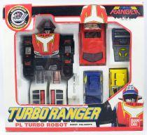 Turbo Ranger - Bandai France - PL Turbo Robot (loose with box)