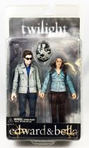 Twilight - Edward Cullen & Bella Swan - Figurine NECA