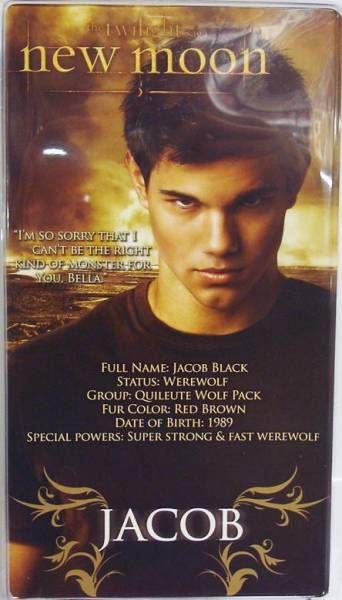 Twilight New Moon - Jacob Black (bare chest) - NECA